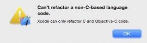 xcode6-rename-aclass-error